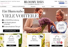 bloomy days daten test blumenversand vergleich. Black Bedroom Furniture Sets. Home Design Ideas
